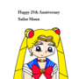 Happy 25th Anniversary, Sailor Moon by MarcosVitor