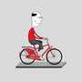Bloke On Bike by Tom-Par