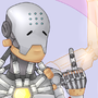 Zenyatta - Proceed without fear by Canine-Bites