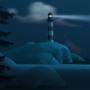 Lighthouse - Background Art by zeedox