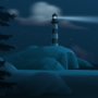 Lighthouse - Background Art by zeedox