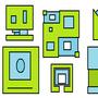 Iconos de Geometry Dash 3
