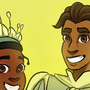 Tiana and Naveen by DetrailedFires