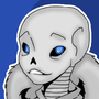 [Undertale] Sans the Skeleton by Pegagamer