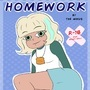 HOMEWORK (Complete Comic +18) by TheMinus