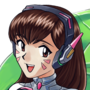 D.Va by TheUnseriousguy
