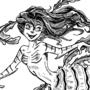 Leafy Sea Dragon Mermaid by Lost-Craft