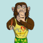 Confused Monkey by Malaxor