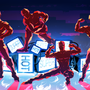 Work Hard [ SUPERHOT fanart ] by ExCharny