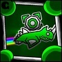GY Geometry Dash Icon 0.5 by GreenYoshiGD