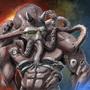 Living armor concept - Demon / Alien hybrid