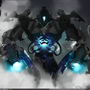 Mecha concept design made in alchemy and photoshop by olimueller