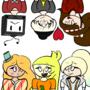 The Gang! by Midgesaurus