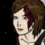 Red Shirt Girl by harrisnator