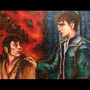 Harry Potter and the Lord of the Rings by MsMiraSofie
