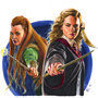 Tauriel and Hermione, friends by KC-Art