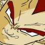 Super saiyan red Vegeta by JasonKyo12