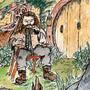 Surprised little Hagrid by Sudoras