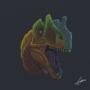 Allosaurus by fabianlpineda