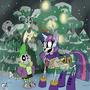Snowdin's Skelebronys by sanyo2100