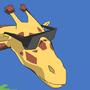 Action Giraffe by MR-UPLOAD