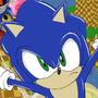 Sonic the Hedgehog fanart by BluMiu