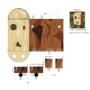Epic Battle Fantasy papercraft Wooden Idol by paveljanik
