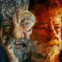 TRADIGITAL SUBMISSION - my grandfather, acrylic by FinnIreland