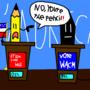 donald pencil vs. wacm clinton by Haackermatt1234