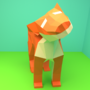 low poly tiger by ElZizgador