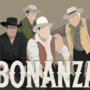 Bonanza Minimalist Portrait by GoldenYakStudio
