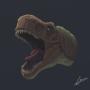 Tyranosaurus by fabianlpineda