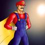 Super Mario Man by Robobotnik