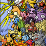 Pokemans by matt-likes-swords