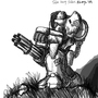 Talon Heavy Soldier by Rhunyc