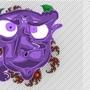 Purple Troll Guy by Sawdust
