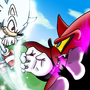 Hyper Shadic vs Perfect Nazo by Chakra-X