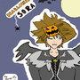 Halloween Town Sora (Colour) by BatdanTheDarkKnight