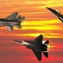 F15a sunset by mmankt