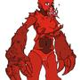 Lobster girl!