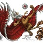 Soccer Gryphon 3 of 3