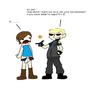Wesker x Jill by xxSuicideSyndicatexx