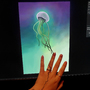 Art flows through my fingers