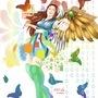Coloured Angel (Tradigital) by K9-Tales