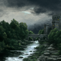 Medieval Landscape by Claymoreconcepts