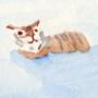 Ryōan-ji: Tiger Cubs Crossing the Sea by LDAF