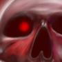 Cherry skull by Moon07