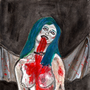 Succubus bathed in blood by EveKing