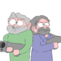 Shooting Brothers by GlassDisposal