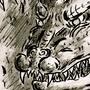 Space Godzilla by ItsMacklin